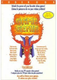 Guide / Livre Game Genie NES (Différents Volumes)