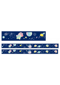 Ruban Décoratif Autocollant (washi tape) - Kirby Voie Lactée