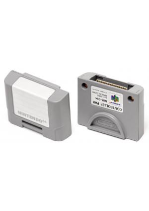 Carte Mémoire Officielle Nintendo / Nintendo 64, N64 Controller Pak (Pack)