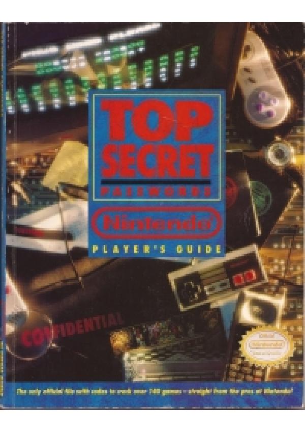 Guide Top Secret Password Nintendo Player's Guide