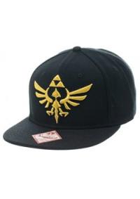 Casquette Legend of Zelda - Noire et Logo Doré