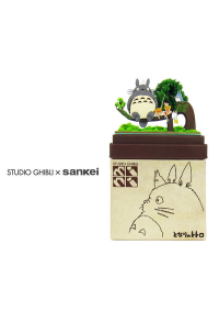 Kit Papercraft Miniatuart Studio Ghibli : Totoro, Mei et Satsuki