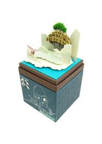 Kit Papercraft Miniatuart Studio Ghibli : Laputa à travers les nuages