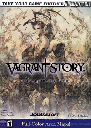 Guide Vagrant Story Par Brady Games/PS1