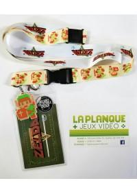 Lanière de cou (Lanyard) Legend of Zelda - Sprites Link