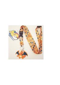 Lanière de Cou (lanyard) Pokemon - Charizard