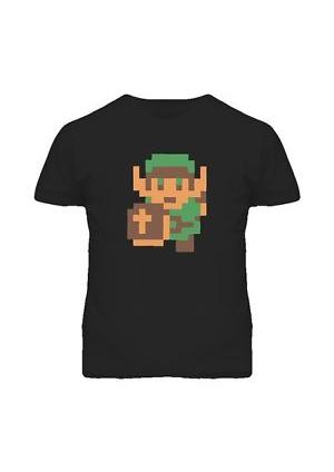 T-shirt Legend of Zelda - Link 8 Bits