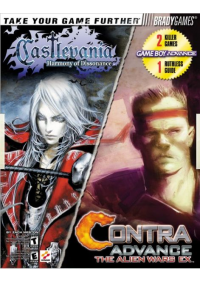 Guide Combo Castlevania Harmony Of Dissonance / Contra Alien Wars EX Par Bradygames