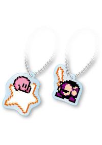 Porte-Clé en Acrylique Kirby - Kirby et Meta Knight (Paire)
