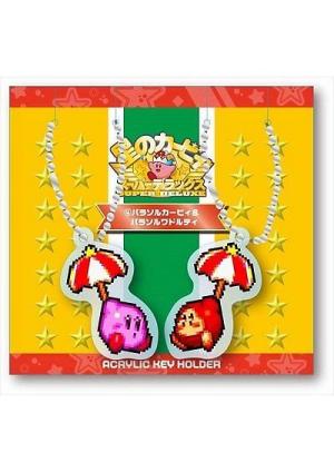 Porte-Clé en Acrylique Kirby Super Star - Kirby & Waddle Dee