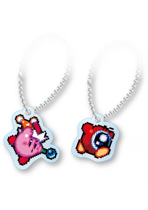 Porte-Clé en Acrylique Kirby Super Star - Kirby & Waddle Doo