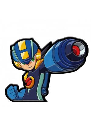 Patch Brodée Rock Man - Mega Man Network avec Velcro