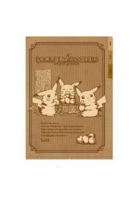 Chemise de Plastique pour Documents avec Onglets - Pokemon Sepis Graffiti : Picnic des Pikachus