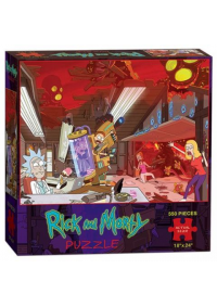 Casse-Tête Rick and Morty (550 Pièces)