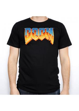 T-Shirt Noir XL - Doom