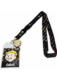 Lanière de Cou (lanyard) Fallout - Emojis