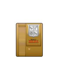 Jeté en Molleton Legend of Zelda - Cartouche Dorée
