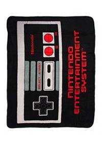Jeté en Molleton Nintendo - Manette de NES