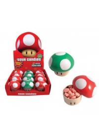 Bonbon Super Mario Boite Champignon Sur Saveur Pomme Ou Cerise