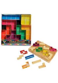 Ensemble d'Emportes-Pièces Tetris