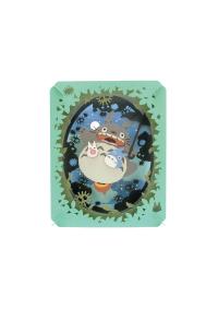 Kit Bricolage Paper Theatre - Studio Ghibli : Au Clair de Lune