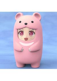 Accessoire à Figurine Nendoroid More : Face Part Case : Pink Bear (Ours Rose)