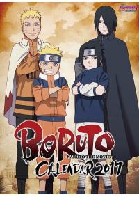 Calendrier Poster 2017 Naruto the Movie : Boruto