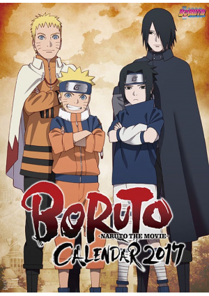 Calendrier Poster 2017 Naruto the Movie : Boruto