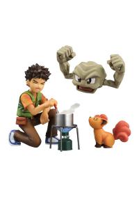 Figurine G.E.M. Pokemon : Brock & Geodude
