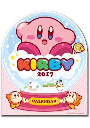 Calendrier 2017 de Bureau : Kirby