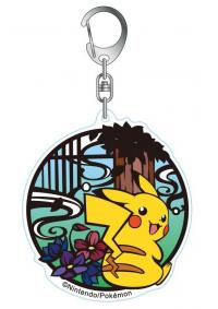 Porte-Clé en Acrylique Pokemon Kirie : Pikachu