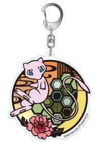 Porte-Clé en Acrylique Pokemon Kirie : Mew