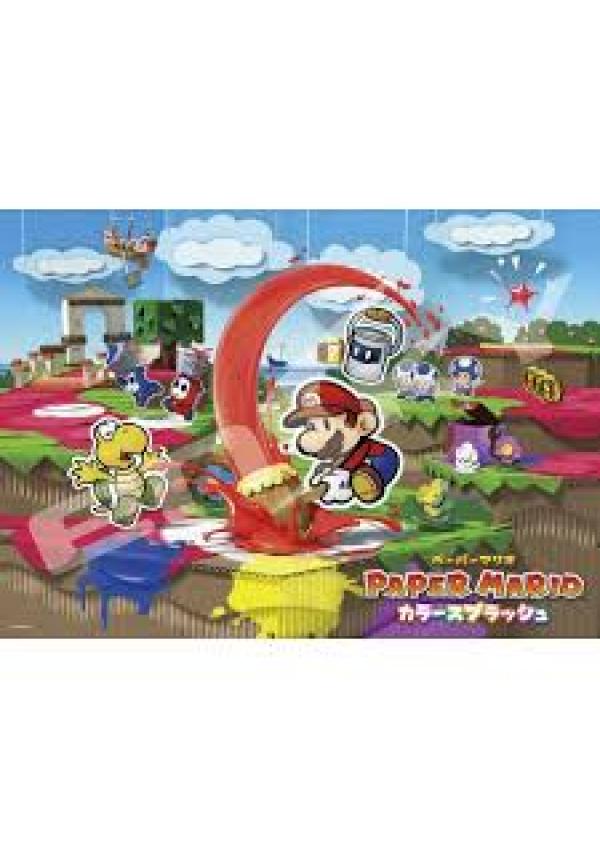 Casse-Tête Paper Mario Color Splash 300 Pièces