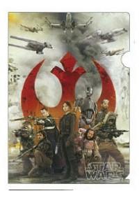 Chemise de Plastique pour Documents - Star Wars Rogue One - ''poster'' rebelles vs. Empire -