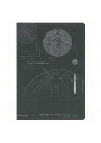 Carnet de Notes Star Wars Rogue One - plans de l'Étoile Noire