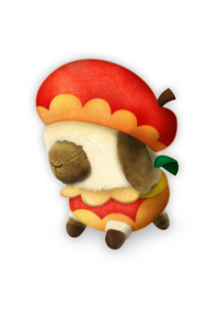 Toutou Monster Hunter : Feni (Fenny) Costume Pomme