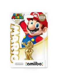 Figurine Amiibo Super Mario Series - Mario Or (Gold)