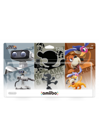 Figurine Amiibo Game And Watch, R.O.B  et Duck Hunt Dog 3 Pack