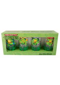 Kit de 4 Verres TMNT (Pintes 16 oz) - Teenage Mutant Ninja Turtles