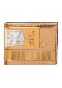 Portefeuille Zelda - Cartouche Dorée