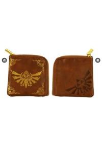Porte-Monnaie Zelda Imitation Cuir - Imprimé Doré