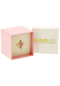 Bague Sakura Chasseuse de Cartes - Ring Star Wand