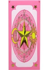 Miroir Pliant Sakura Chasseuse de Cartes - Rose