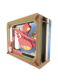 Kit Bricolage Paper Theater Studios Ghibli - Porco Rosso
