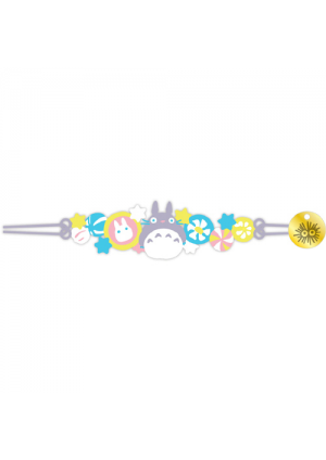 Bracelet Brodé Studio Ghibli - Totoro & Bonbons