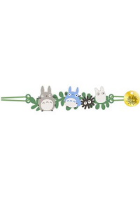 Bracelet Brodé Sudio Ghibli - Totoro & Leaf