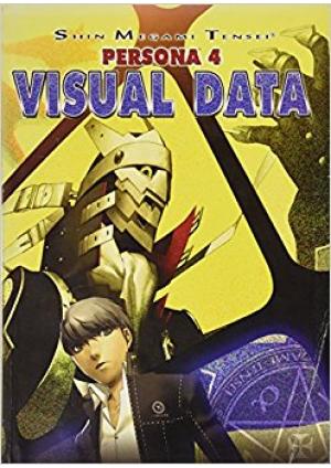 Artbook Shin Megami Tensei Persona 4 Visual Data