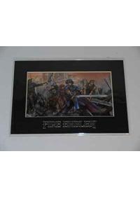 Laser Cel (Celluloid) De Fire Emblem Shadow Dragon Limited Edition