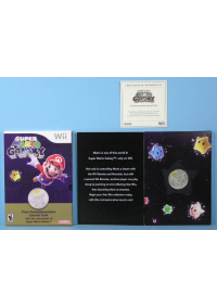 Pièce Commémorative De Lancement (Coin) De Super Mario Galaxy