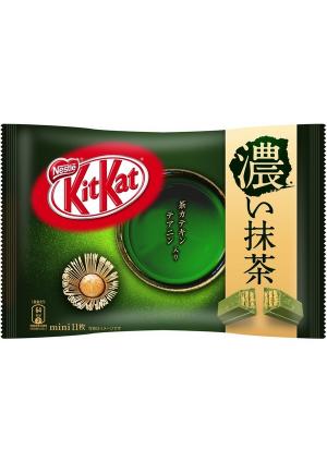 Chocolat Kit Kat Mini - Thé Vert Fort